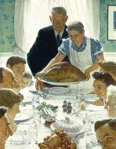 Saturday Evening Post - Rockwell - Thanksgiving