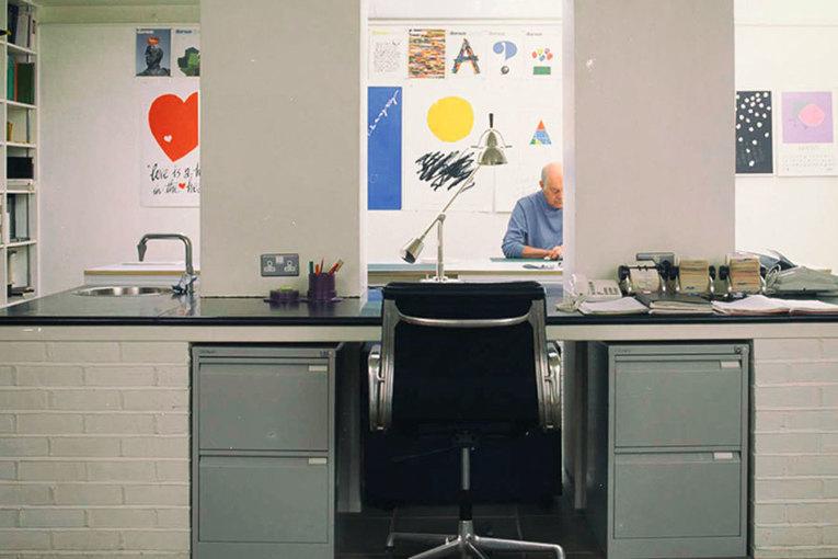 Alan fletcher famous british graphic designer for Famous british designers