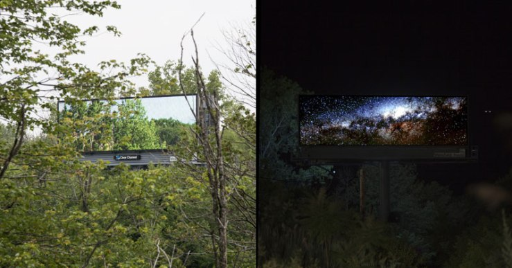 brian kane Buys Digital Billboard Space to Display Nature Photos (7)